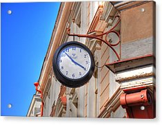 Time Acrylic Print by Barry R Jones Jr