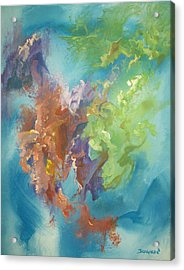 Acrylic Print featuring the painting Time Beyond by Raymond Doward
