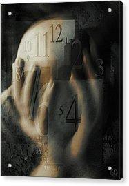 Time Confusion Acrylic Print by Gun Legler
