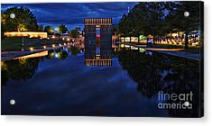 Time For Reflection Acrylic Print by Gib Martinez