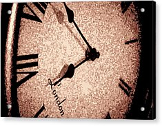 Time Waits For Her Acrylic Print by Dax Ian