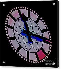 Acrylic Print featuring the photograph Time Waits For No Man by Blair Stuart