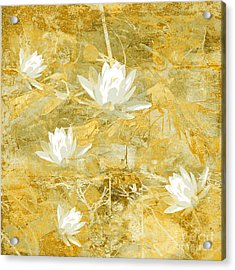 Timeless Beauty Photo Collage Acrylic Print by Ann Powell