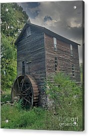 Acrylic Print featuring the photograph Times Forgotten by Janice Spivey