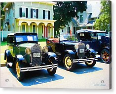 Times Gone By Acrylic Print by Tom Schmidt