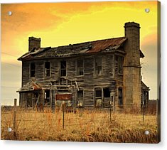 Acrylic Print featuring the photograph Times Past by Marty Koch