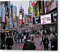 Times Square New York Acrylic Print