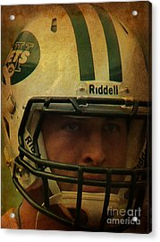 Timothy Richard Tebow - Tim Tebow - New York Jets   Acrylic Print by Lee Dos Santos