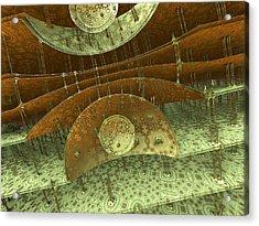 Timpani Acrylic Print by Pam Blackstone