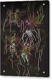 Tinsel War Acrylic Print
