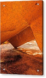 Tipping Point Acrylic Print by Marcia Lee Jones