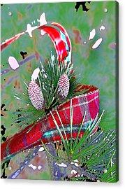 Tis The Season Acrylic Print by Anne Mott