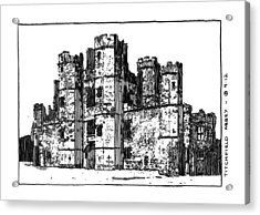 Titchfield Abbey Acrylic Print by Peter Smith