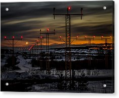Acrylic Print featuring the photograph TMP by Matti Ollikainen