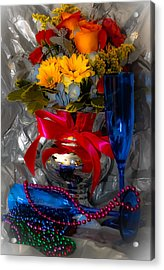 To 2012 Acrylic Print by DigiArt Diaries by Vicky B Fuller