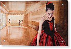 To Dance To Dream Acrylic Print by Kathy Michels