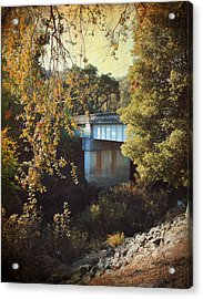 To Get To You Acrylic Print by Laurie Search