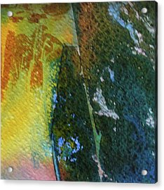 Acrylic Print featuring the painting To Have And To Hold by Mary Sullivan