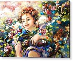 To Mom-john Acrylic Print