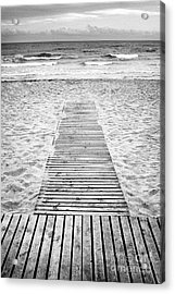 To The Beach Acrylic Print