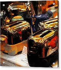Toasters Acrylic Print by Simone Hester