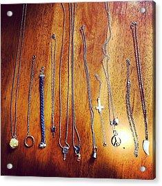 Today's Accomplishments #jewelry Acrylic Print