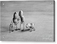 Together 01 Acrylic Print by Nailia Schwarz