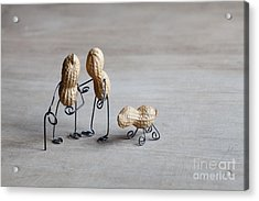 Together 02 Acrylic Print by Nailia Schwarz