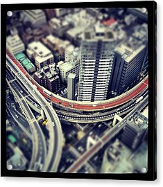 Tokyo Highway Acrylic Print by Frank Lee