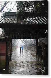 Acrylic Print featuring the photograph Tokyo by Leslie Hunziker