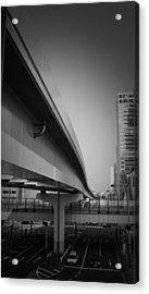Tokyo Overpass Acrylic Print by Naxart Studio