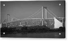 Tokyo Rainbow Bridge Acrylic Print