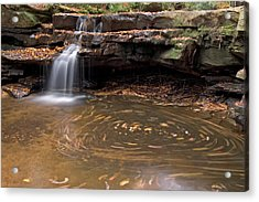 Acrylic Print featuring the photograph Tolliver Falls by Jeannette Hunt