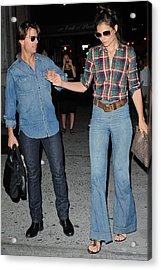 Tom Cruise, Katie Holmes, Enter Acrylic Print by Everett