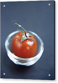 Tomato Acrylic Print by Veronique Leplat