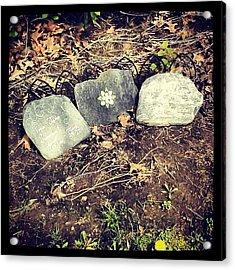 #tombstone #pretty #decorative Acrylic Print