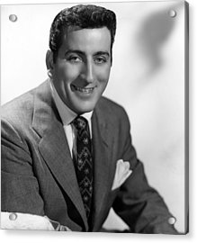 Tony Bennett, C. 1952 Acrylic Print by Everett