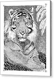 Tony The Tiger Acrylic Print