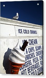 Too Cold For Me Acrylic Print by Jez C Self