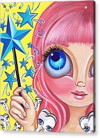 Tooth Fairy Acrylic Print by Jaz Higgins