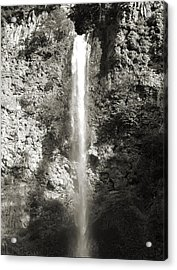 Top Half Multnomah Falls Acrylic Print