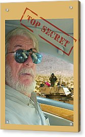Top Secret Acrylic Print by Larry Mulvehill