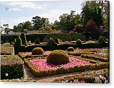 Topiary And Flower Beds 2 Acrylic Print