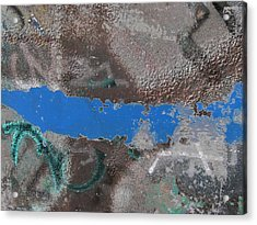 Torn 2 Acrylic Print by Tim Allen