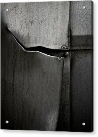 Torn Curtain Acrylic Print by Odd Jeppesen