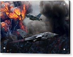 Tornado Gr4 Attack Acrylic Print