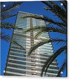 Torre Mapfre - Barcelona Acrylic Print by Juergen Weiss