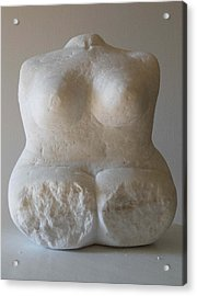 Torso Acrylic Print by Rosemary Cotnoir