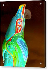 Totem 49 Acrylic Print by Randall Weidner