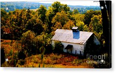 Acrylic Print featuring the photograph Touch Of Old Country by Peggy Franz